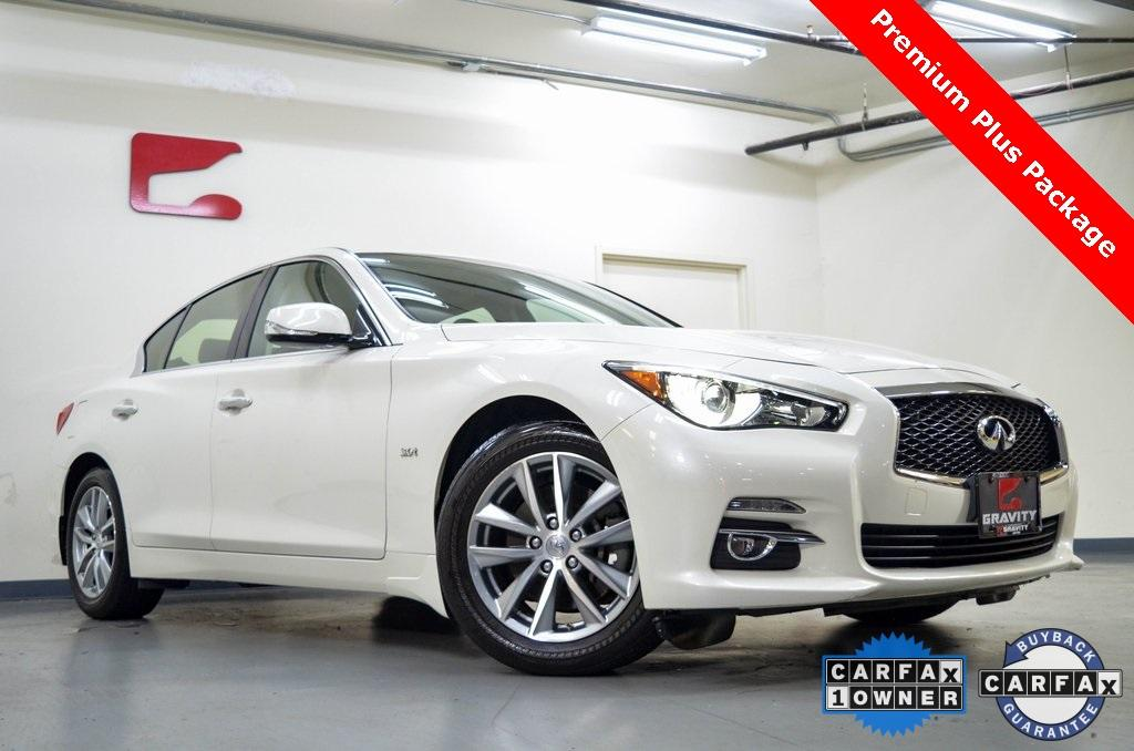 Used 2016 INFINITI Q50 3.0t Premium for sale $20,331 at Gravity Autos in Roswell GA 30076 1