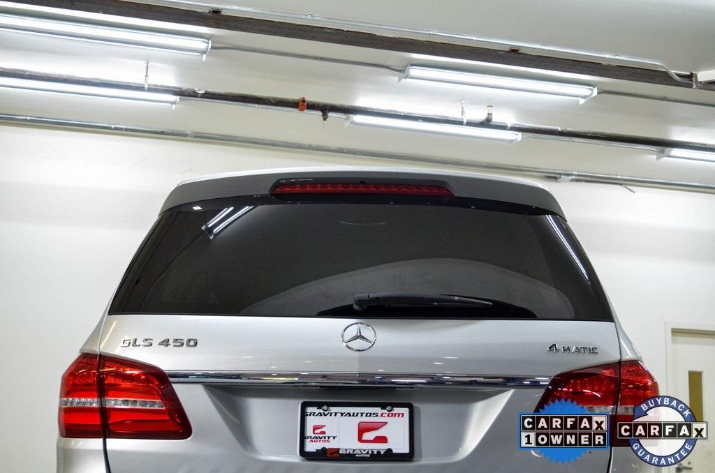 Used 2017 Mercedes-Benz GLS GLS 450 for sale Sold at Gravity Autos Marietta in Marietta GA 30060 11