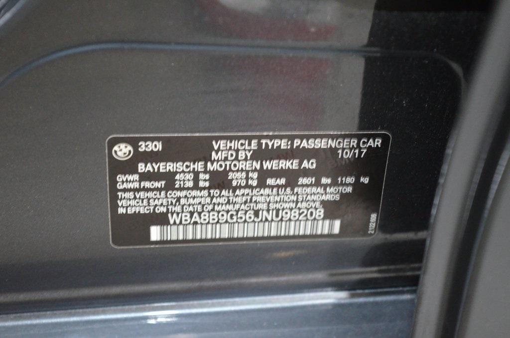 Used 2018 BMW 3 Series 330i for sale Sold at Gravity Autos Marietta in Marietta GA 30060 39