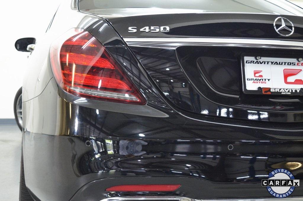 Used 2018 Mercedes-Benz S-Class S 450 for sale Sold at Gravity Autos Marietta in Marietta GA 30060 11