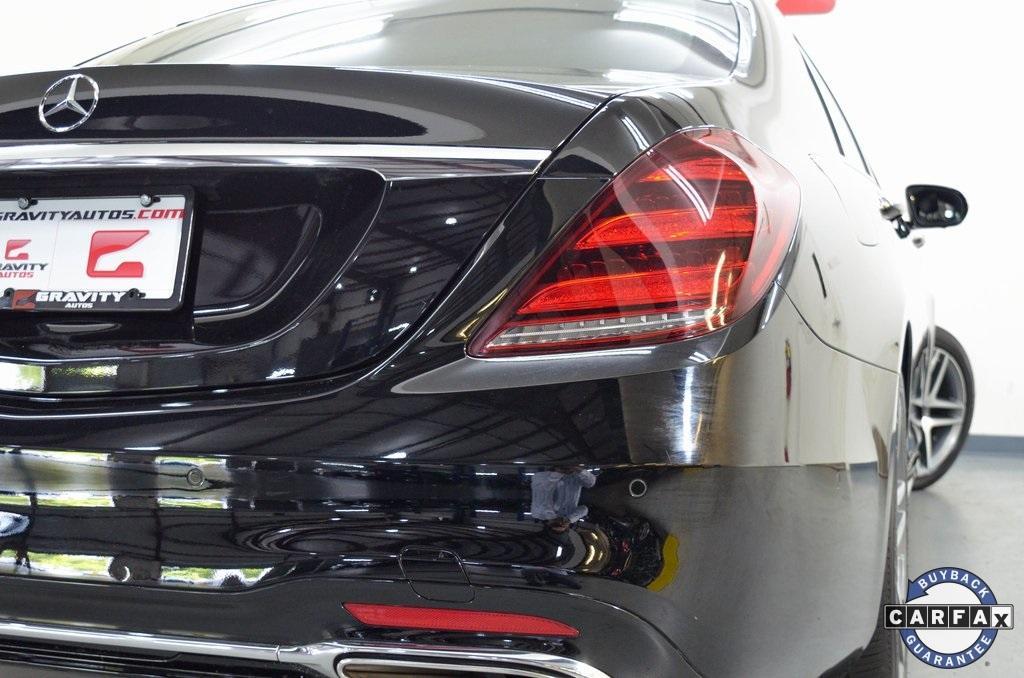 Used 2018 Mercedes-Benz S-Class S 450 for sale Sold at Gravity Autos Marietta in Marietta GA 30060 13
