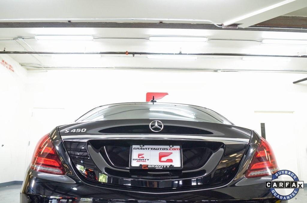 Used 2018 Mercedes-Benz S-Class S 450 for sale Sold at Gravity Autos Marietta in Marietta GA 30060 7