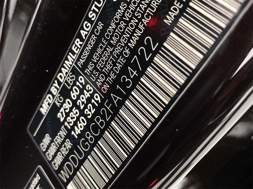 Used 2015 Mercedes-Benz S-Class S 550 for sale Sold at Gravity Autos Marietta in Marietta GA 30060 48
