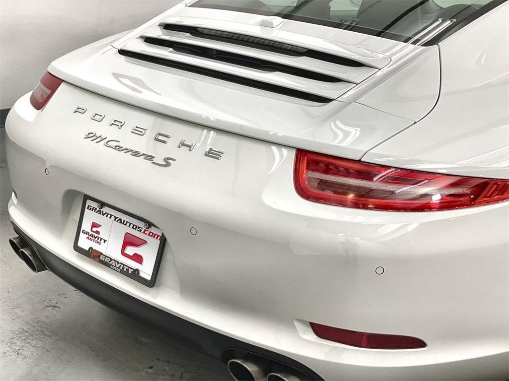 Used 2014 Porsche 911 Carrera S for sale Sold at Gravity Autos Marietta in Marietta GA 30060 30