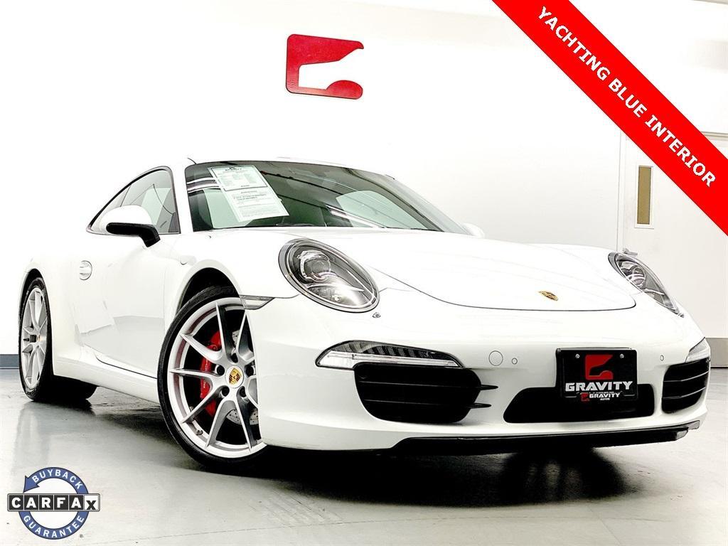 Used 2014 Porsche 911 Carrera S for sale Sold at Gravity Autos Marietta in Marietta GA 30060 1