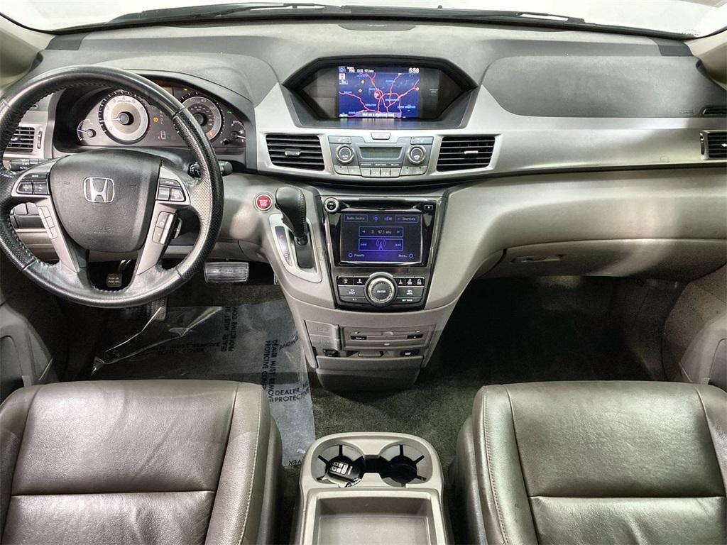 Used 2015 Honda Odyssey Touring Elite for sale Sold at Gravity Autos Marietta in Marietta GA 30060 40