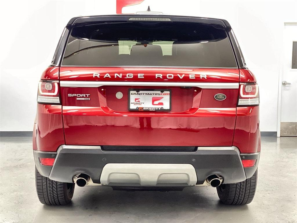 Used 2017 Land Rover Range Rover Sport 3.0L V6 Supercharged HSE for sale Sold at Gravity Autos Marietta in Marietta GA 30060 7