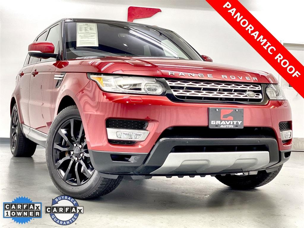 Used 2017 Land Rover Range Rover Sport 3.0L V6 Supercharged HSE for sale Sold at Gravity Autos Marietta in Marietta GA 30060 1