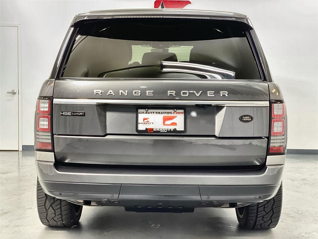 Used 2017 Land Rover Range Rover 3.0L V6 Supercharged for sale Sold at Gravity Autos Marietta in Marietta GA 30060 7