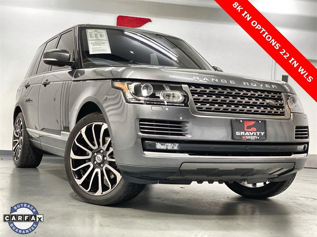 Used 2017 Land Rover Range Rover 3.0L V6 Supercharged for sale Sold at Gravity Autos Marietta in Marietta GA 30060 1