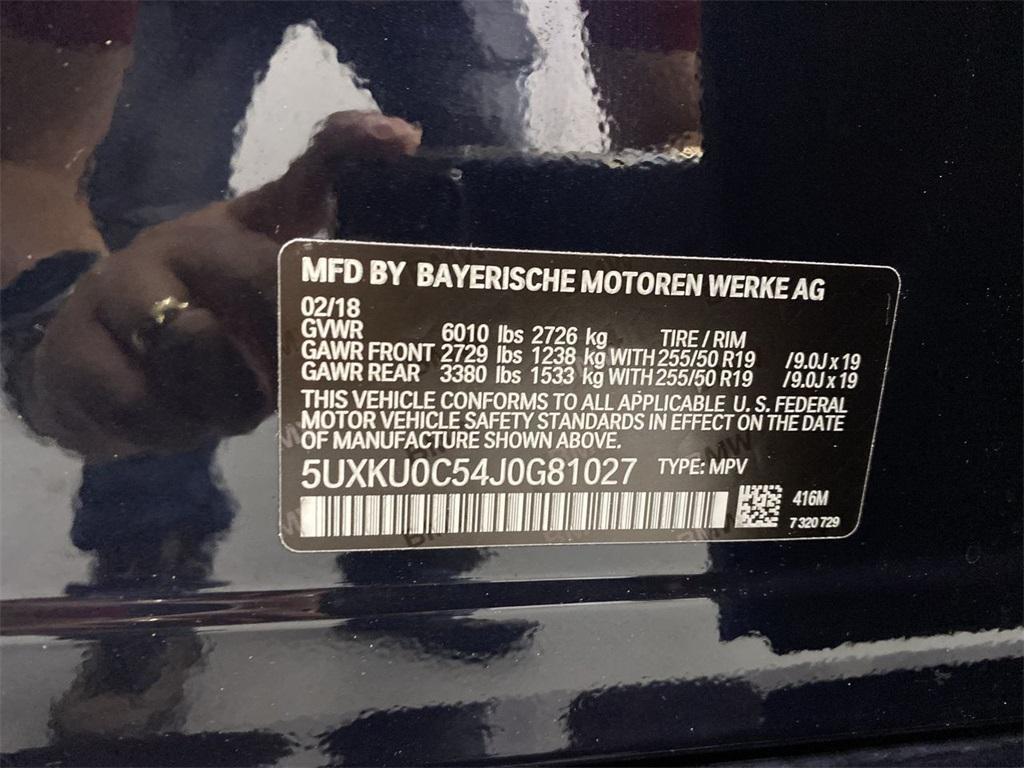 Used 2018 BMW X6 sDrive35i for sale $46,777 at Gravity Autos Marietta in Marietta GA 30060 48