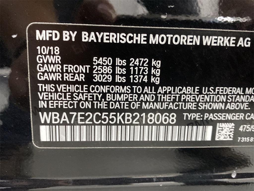 Used 2019 BMW 7 Series 740i for sale $49,998 at Gravity Autos Marietta in Marietta GA 30060 49