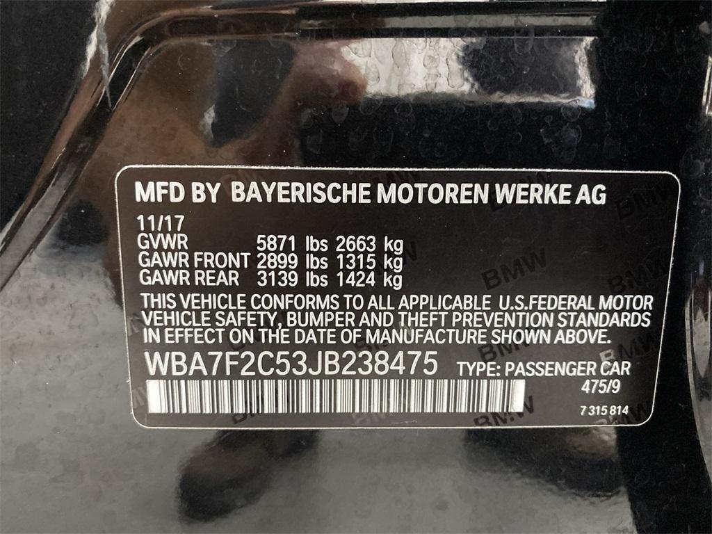 Used 2018 BMW 7 Series 750i xDrive for sale Sold at Gravity Autos Marietta in Marietta GA 30060 51