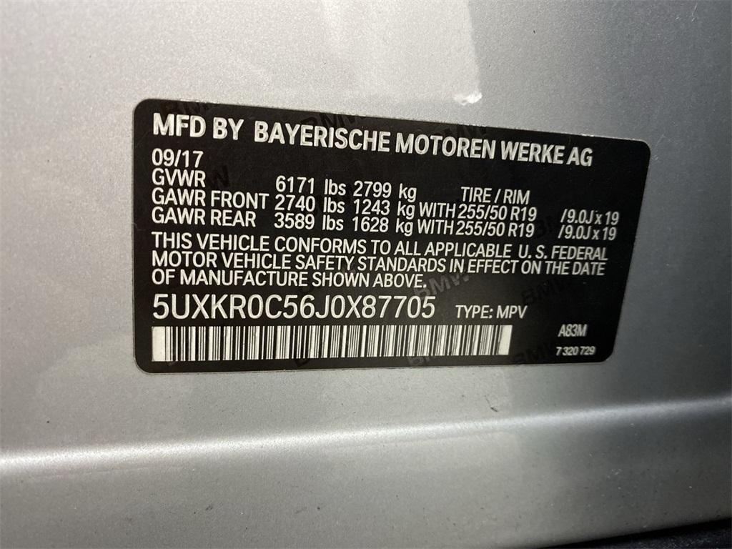Used 2018 BMW X5 xDrive35i for sale $36,888 at Gravity Autos Marietta in Marietta GA 30060 46