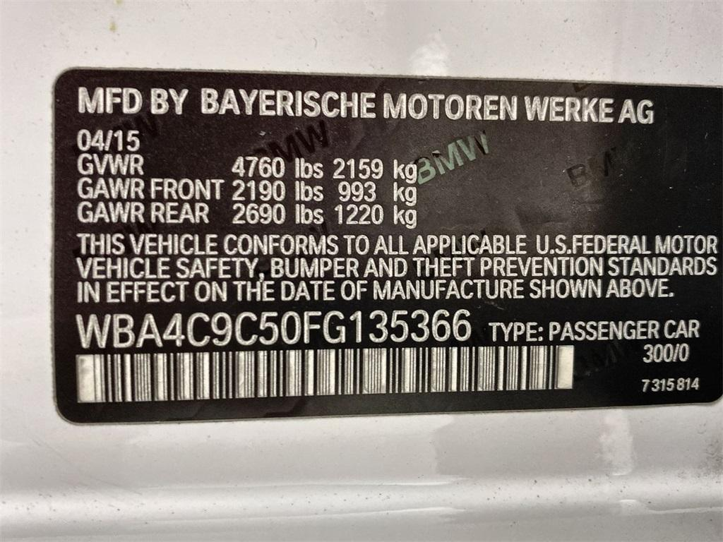 Used 2015 BMW 4 Series 428i xDrive Gran Coupe for sale $22,698 at Gravity Autos Marietta in Marietta GA 30060 41