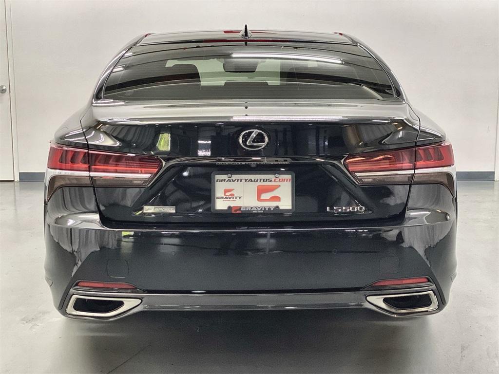 Used 2018 Lexus LS 500 F Sport for sale $59,888 at Gravity Autos Marietta in Marietta GA 30060 8