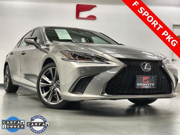 Used 2019 Lexus ES 350 F Sport for sale $38,949 at Gravity Autos Marietta in Marietta GA
