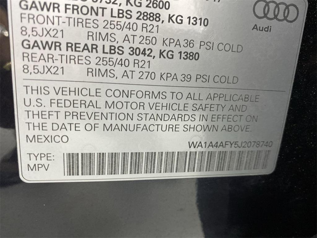 Used 2018 Audi SQ5 3.0T Premium Plus for sale $45,499 at Gravity Autos Marietta in Marietta GA 30060 48