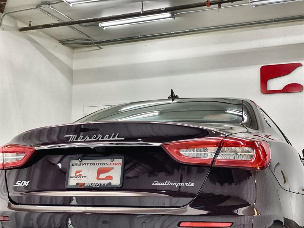 Used 2017 Maserati Quattroporte S Q4 GranLusso for sale $49,999 at Gravity Autos Marietta in Marietta GA 30060 12