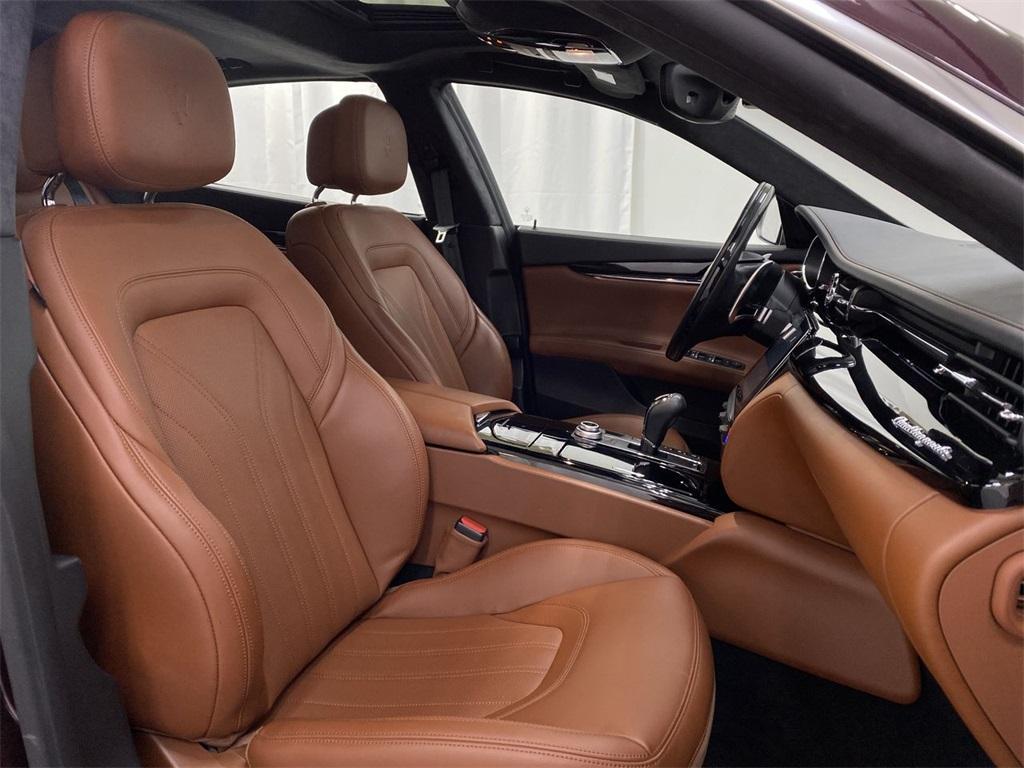 Used 2017 Maserati Quattroporte S Q4 GranLusso for sale $49,999 at Gravity Autos Marietta in Marietta GA 30060 19