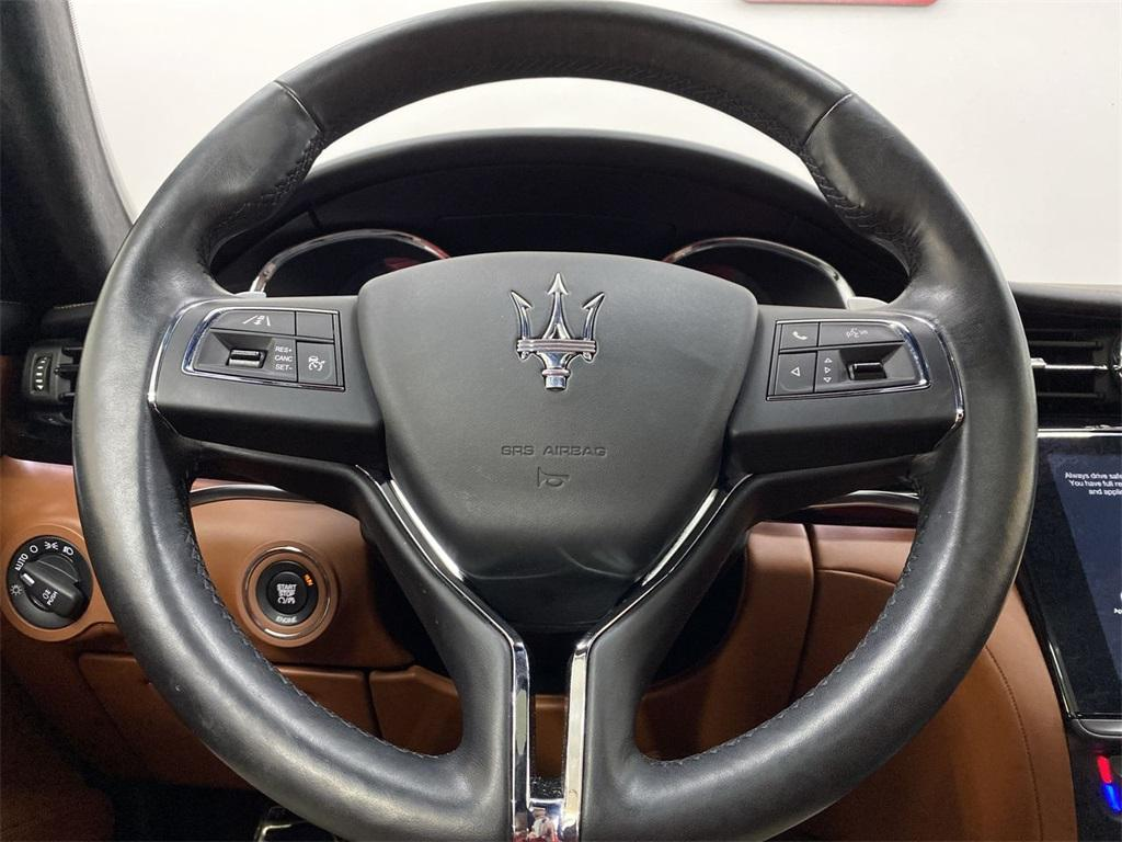 Used 2017 Maserati Quattroporte S Q4 GranLusso for sale $49,999 at Gravity Autos Marietta in Marietta GA 30060 27