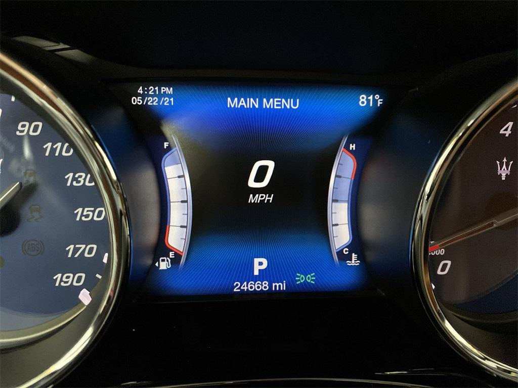 Used 2017 Maserati Quattroporte S Q4 GranLusso for sale $49,999 at Gravity Autos Marietta in Marietta GA 30060 28