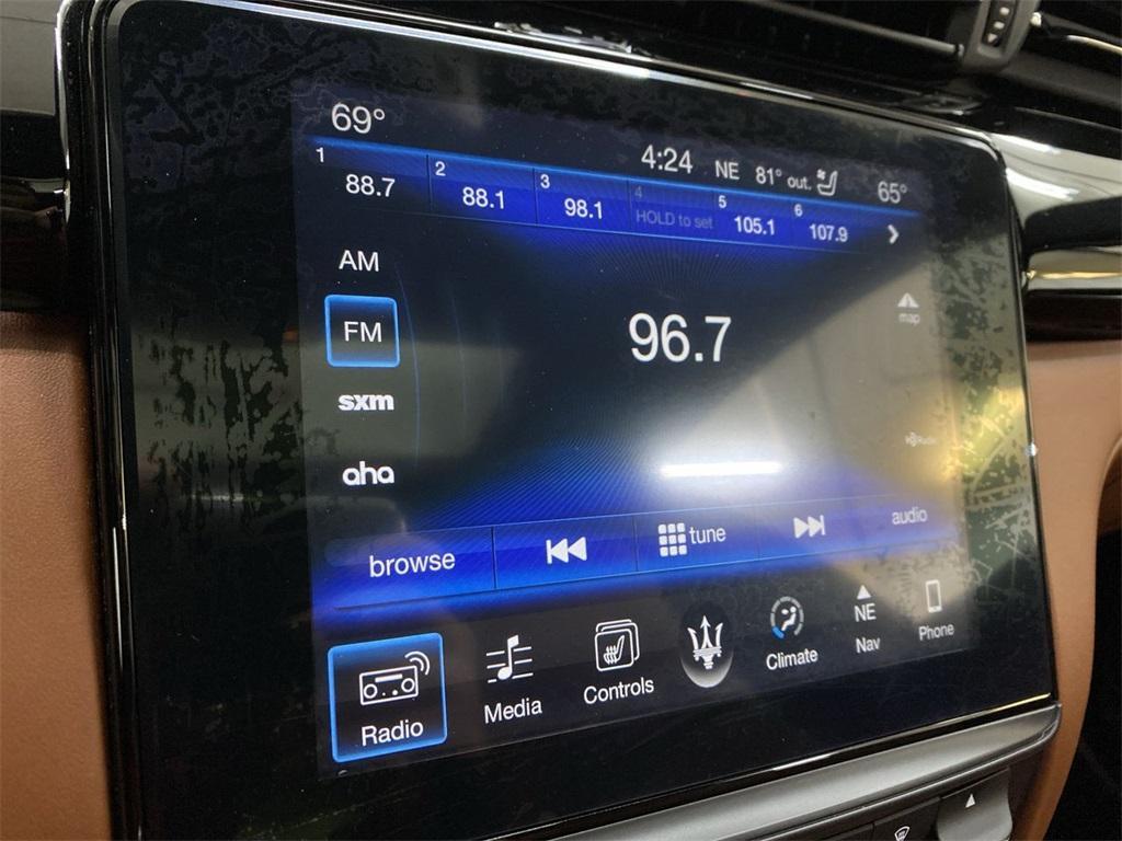 Used 2017 Maserati Quattroporte S Q4 GranLusso for sale $49,999 at Gravity Autos Marietta in Marietta GA 30060 33