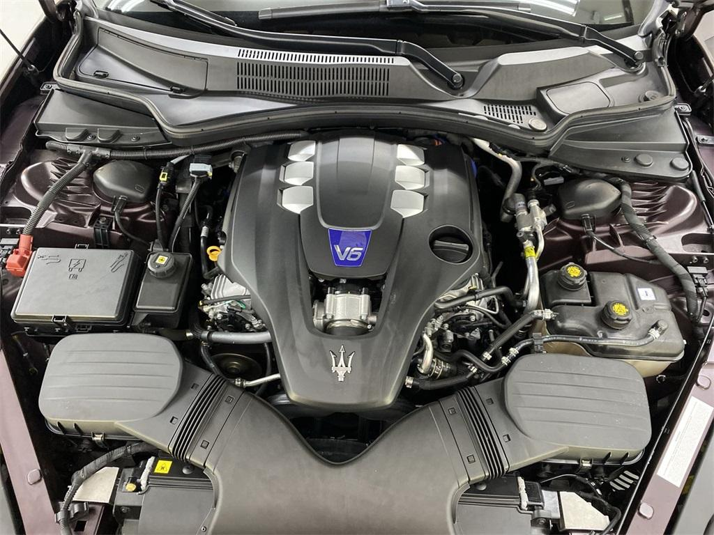 Used 2017 Maserati Quattroporte S Q4 GranLusso for sale $49,999 at Gravity Autos Marietta in Marietta GA 30060 48