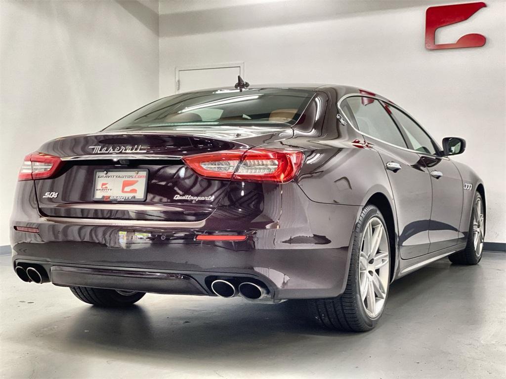 Used 2017 Maserati Quattroporte S Q4 GranLusso for sale $49,999 at Gravity Autos Marietta in Marietta GA 30060 9
