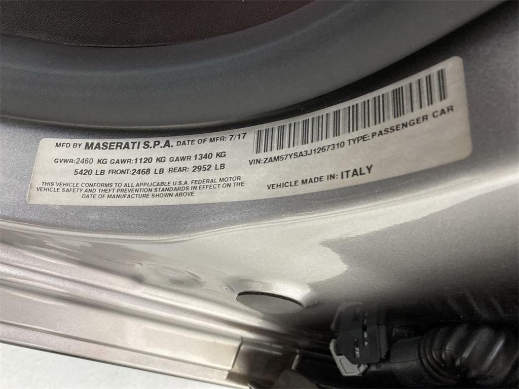 Used 2018 Maserati Ghibli S for sale $46,888 at Gravity Autos Marietta in Marietta GA 30060 47