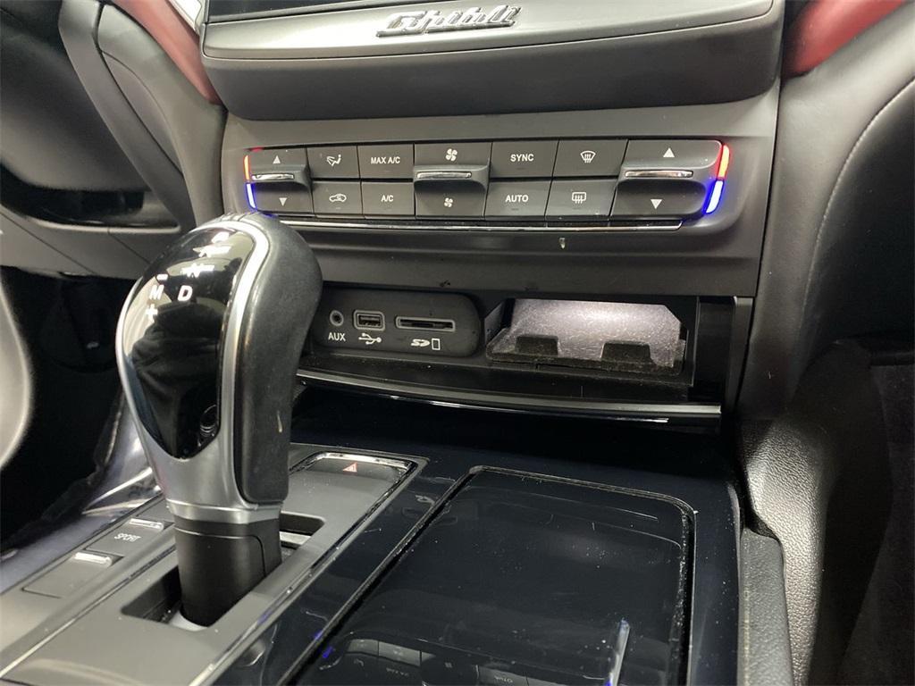 Used 2018 Maserati Ghibli for sale $44,888 at Gravity Autos Marietta in Marietta GA 30060 34