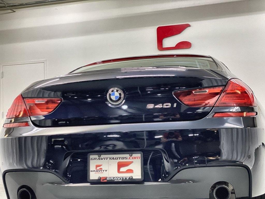 Used 2017 BMW 6 Series 640i Gran Coupe for sale $39,888 at Gravity Autos Marietta in Marietta GA 30060 12