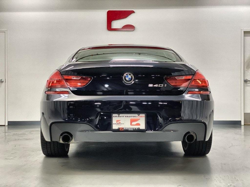 Used 2017 BMW 6 Series 640i Gran Coupe for sale $39,888 at Gravity Autos Marietta in Marietta GA 30060 4