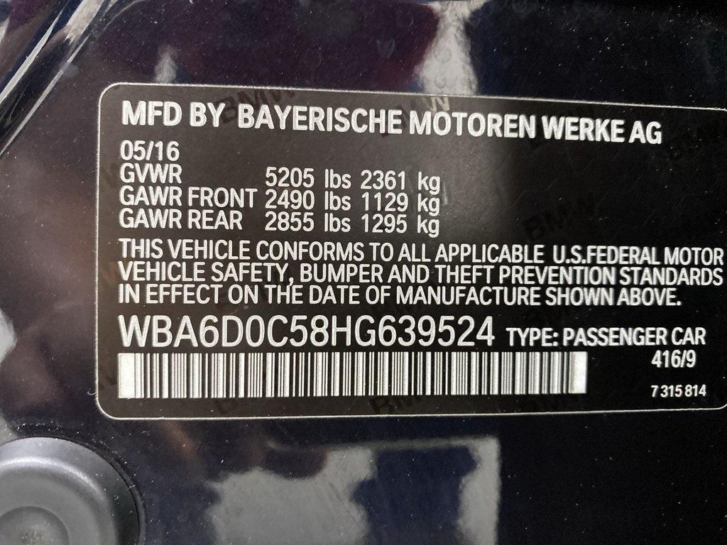 Used 2017 BMW 6 Series 640i Gran Coupe for sale $39,888 at Gravity Autos Marietta in Marietta GA 30060 48