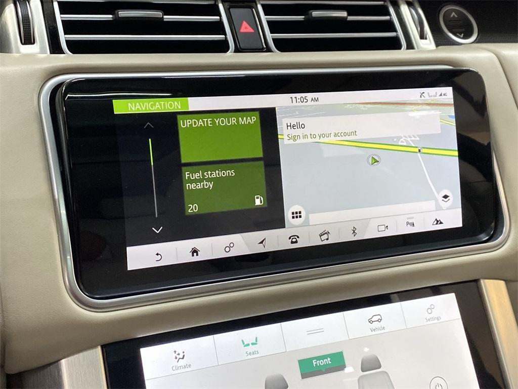 Used 2019 Land Rover Range Rover 3.0L V6 Supercharged HSE for sale Sold at Gravity Autos Marietta in Marietta GA 30060 33