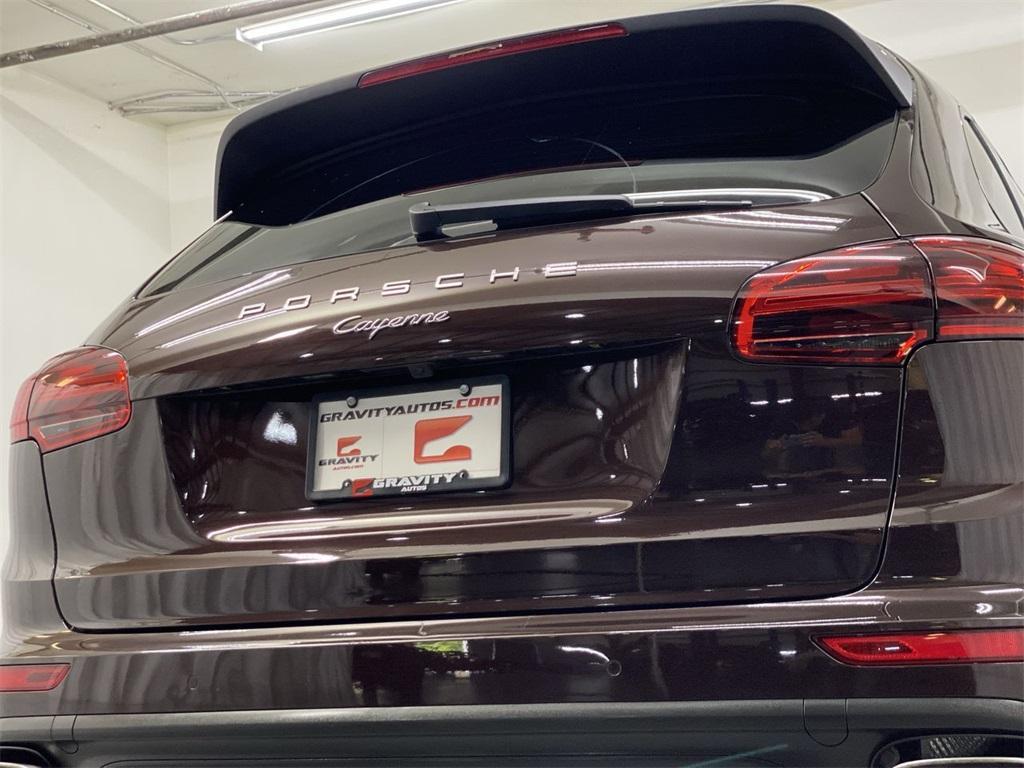 Used 2017 Porsche Cayenne Platinum Edition for sale $48,999 at Gravity Autos Marietta in Marietta GA 30060 12
