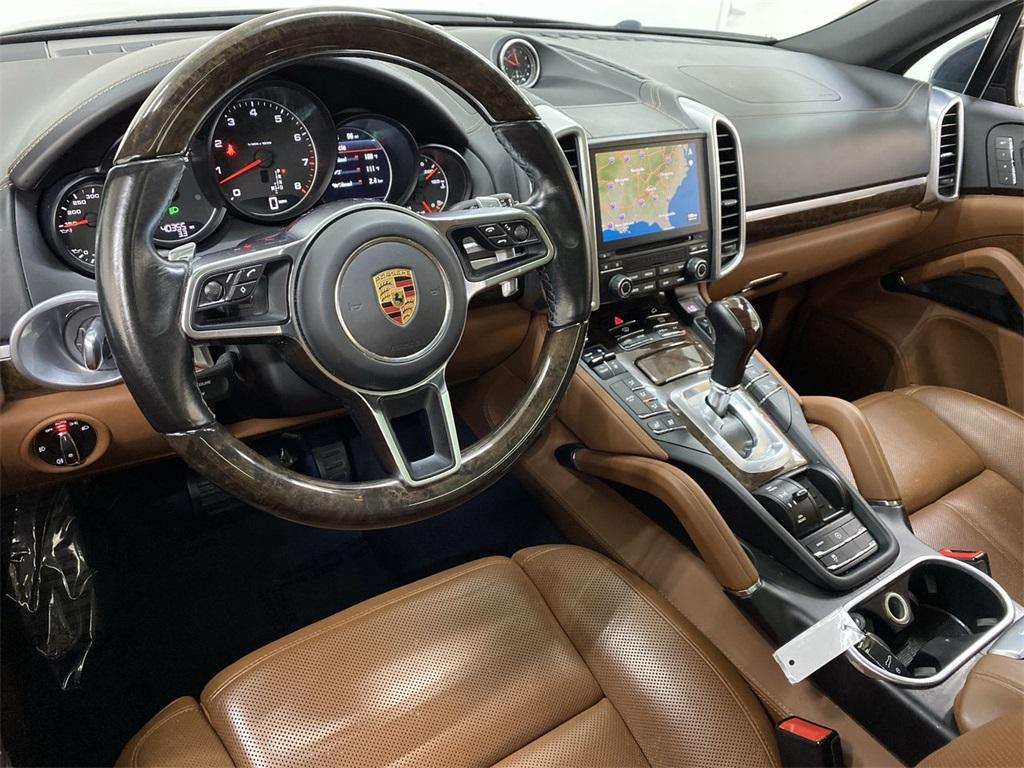 Used 2017 Porsche Cayenne Platinum Edition for sale $48,999 at Gravity Autos Marietta in Marietta GA 30060 40