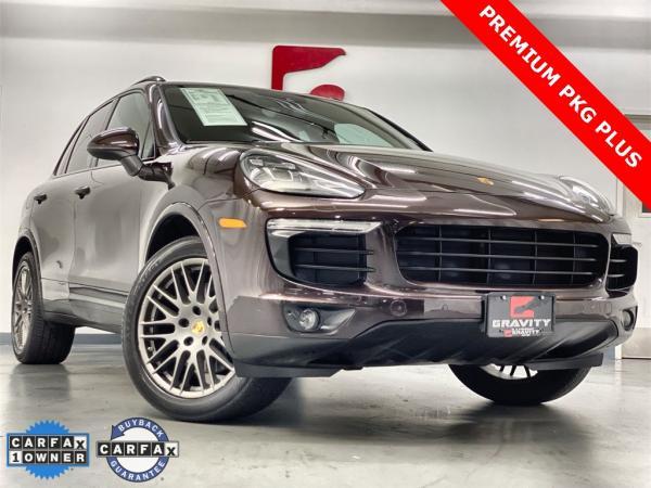 Used 2017 Porsche Cayenne Platinum Edition for sale $48,999 at Gravity Autos Marietta in Marietta GA