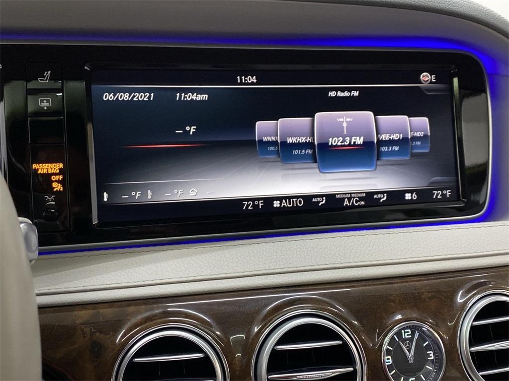 Used 2015 Mercedes-Benz S-Class S 550 for sale $46,888 at Gravity Autos Marietta in Marietta GA 30060 34