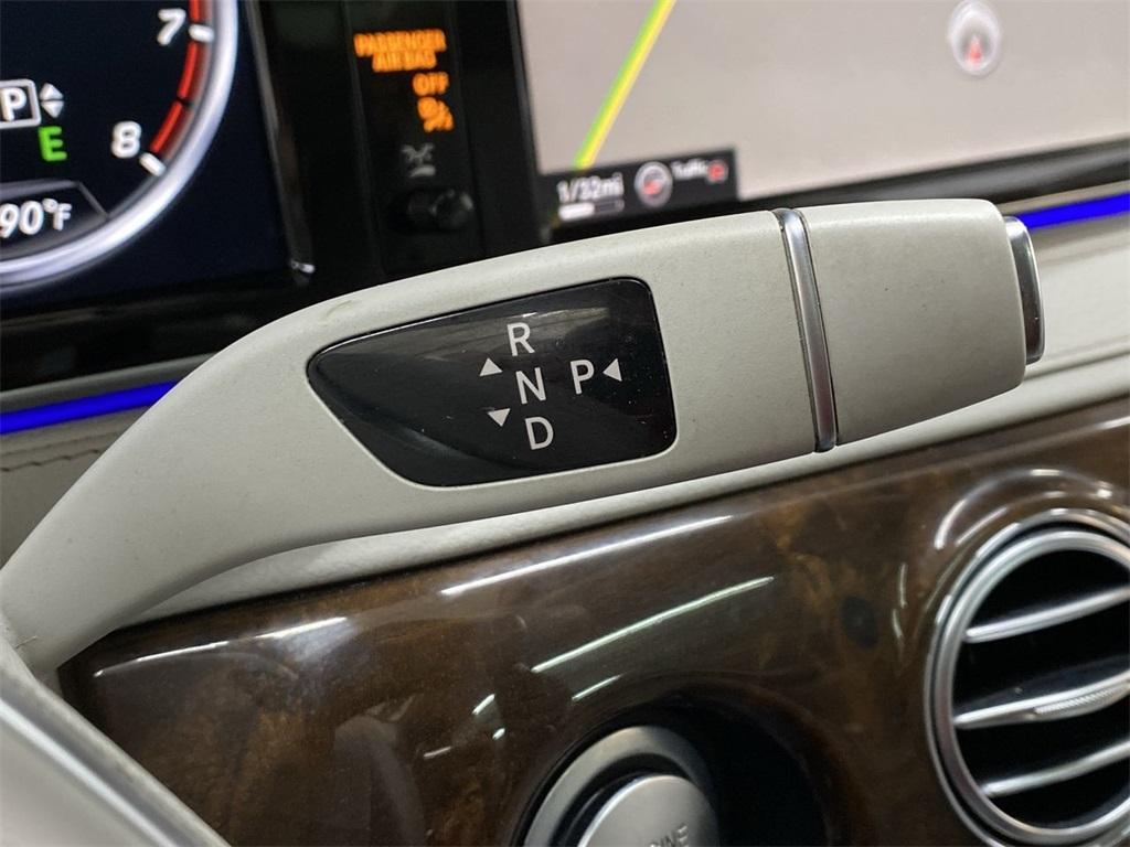 Used 2015 Mercedes-Benz S-Class S 550 for sale $46,888 at Gravity Autos Marietta in Marietta GA 30060 38