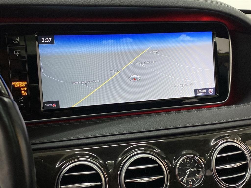 Used 2015 Mercedes-Benz S-Class S 63 AMG for sale $72,888 at Gravity Autos Marietta in Marietta GA 30060 32