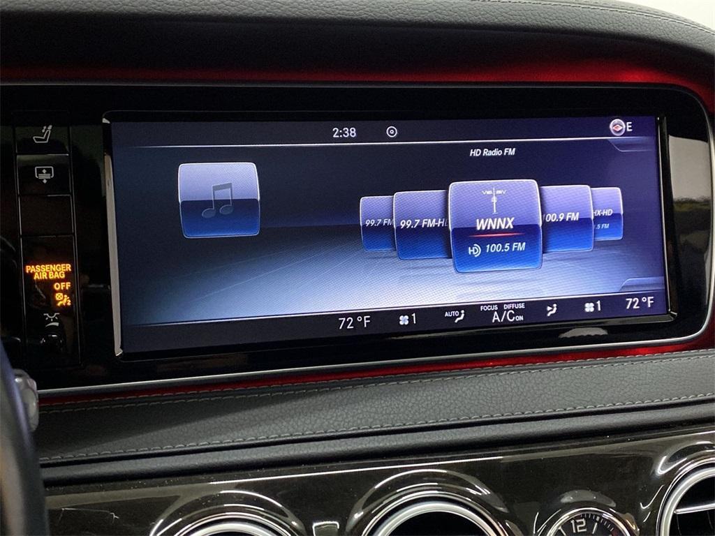 Used 2015 Mercedes-Benz S-Class S 63 AMG for sale $72,888 at Gravity Autos Marietta in Marietta GA 30060 34