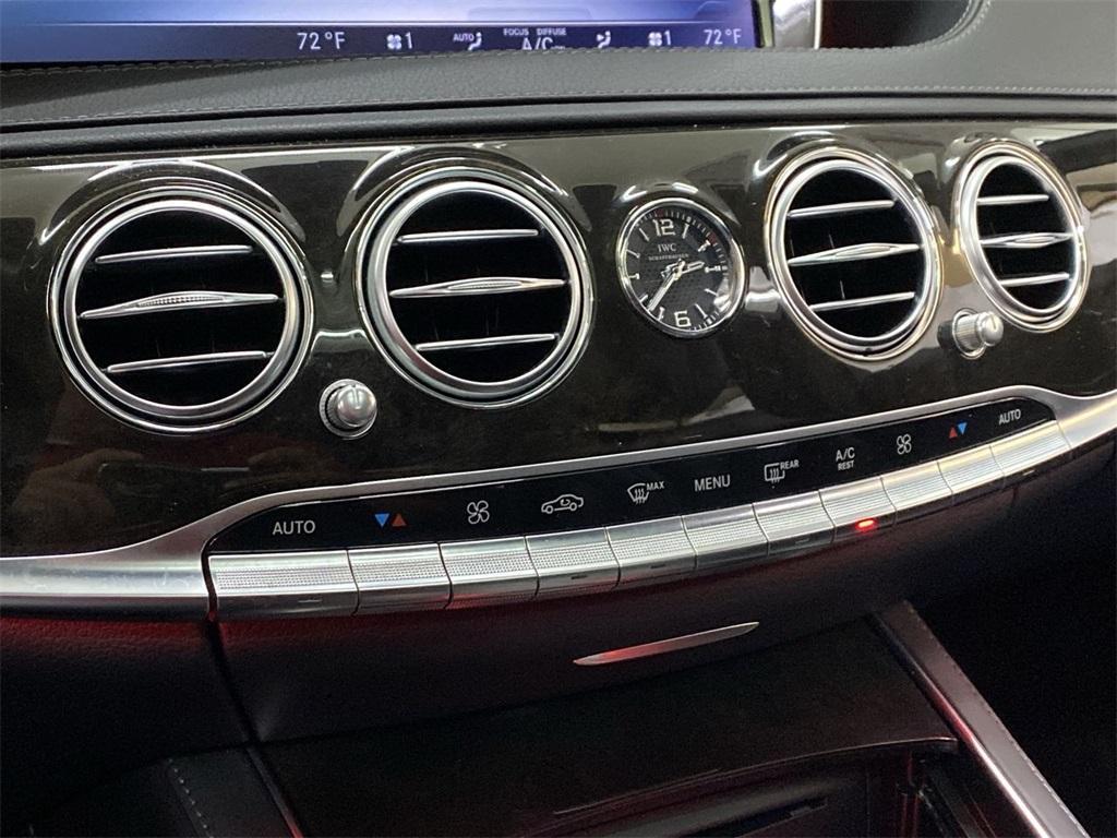 Used 2015 Mercedes-Benz S-Class S 63 AMG for sale $72,888 at Gravity Autos Marietta in Marietta GA 30060 35
