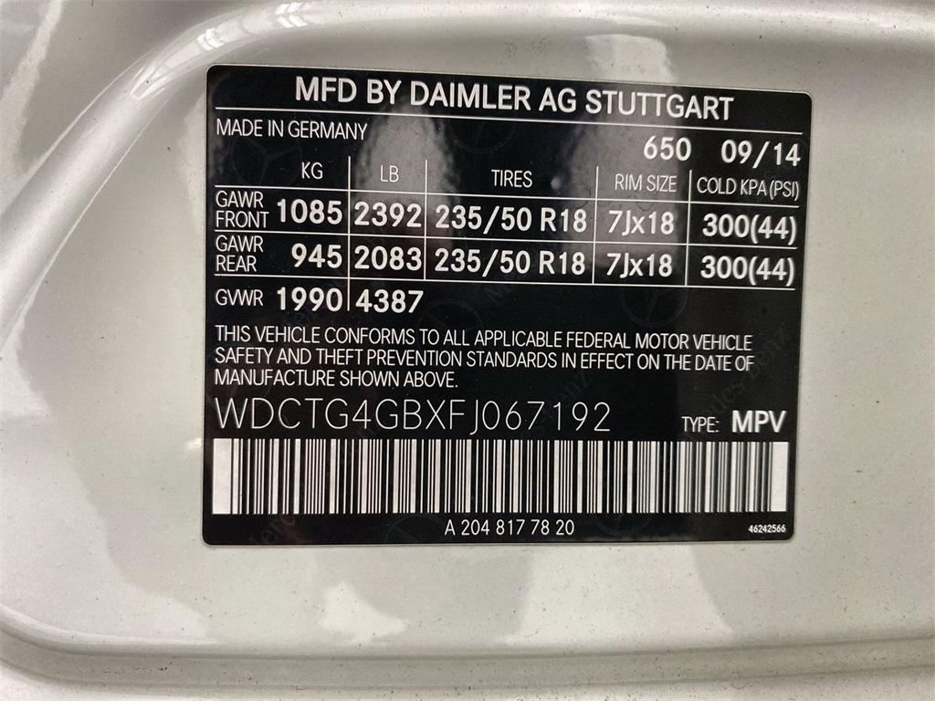 Used 2015 Mercedes-Benz GLA GLA 250 for sale $20,888 at Gravity Autos Marietta in Marietta GA 30060 42