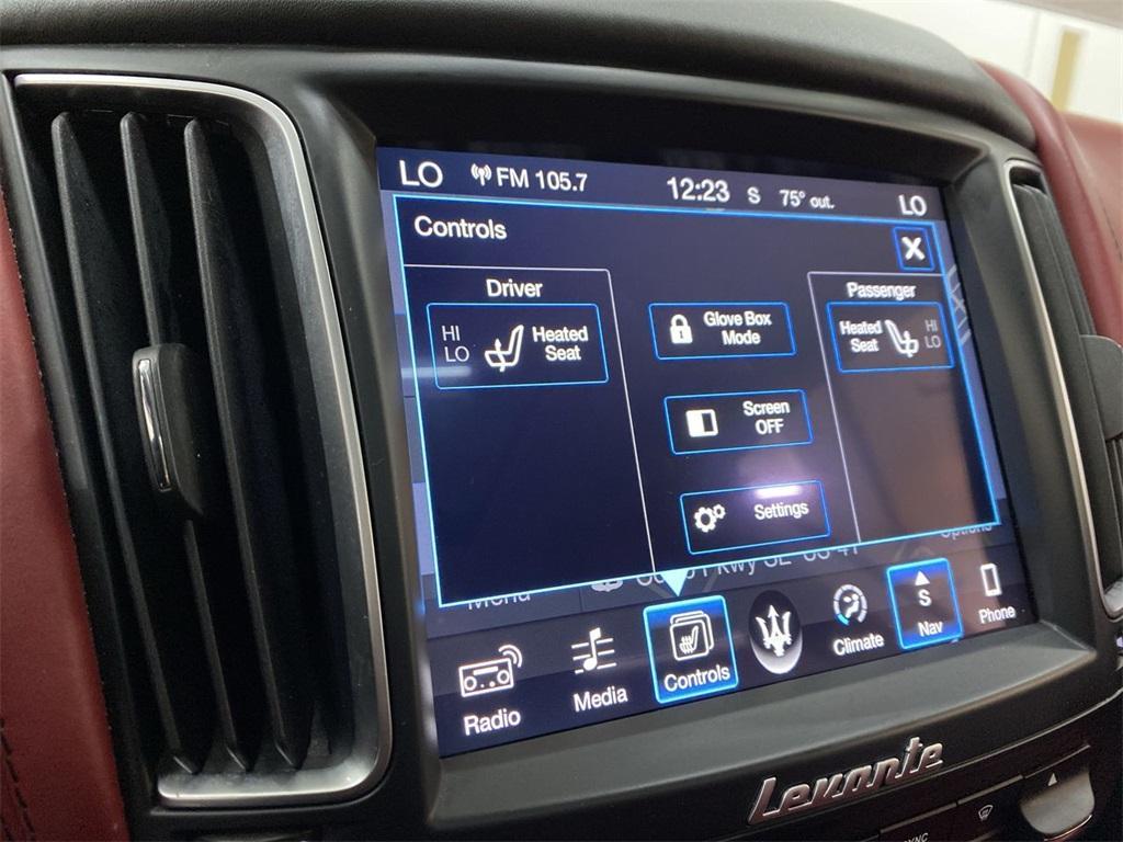 Used 2017 Maserati Levante for sale $49,499 at Gravity Autos Marietta in Marietta GA 30060 32