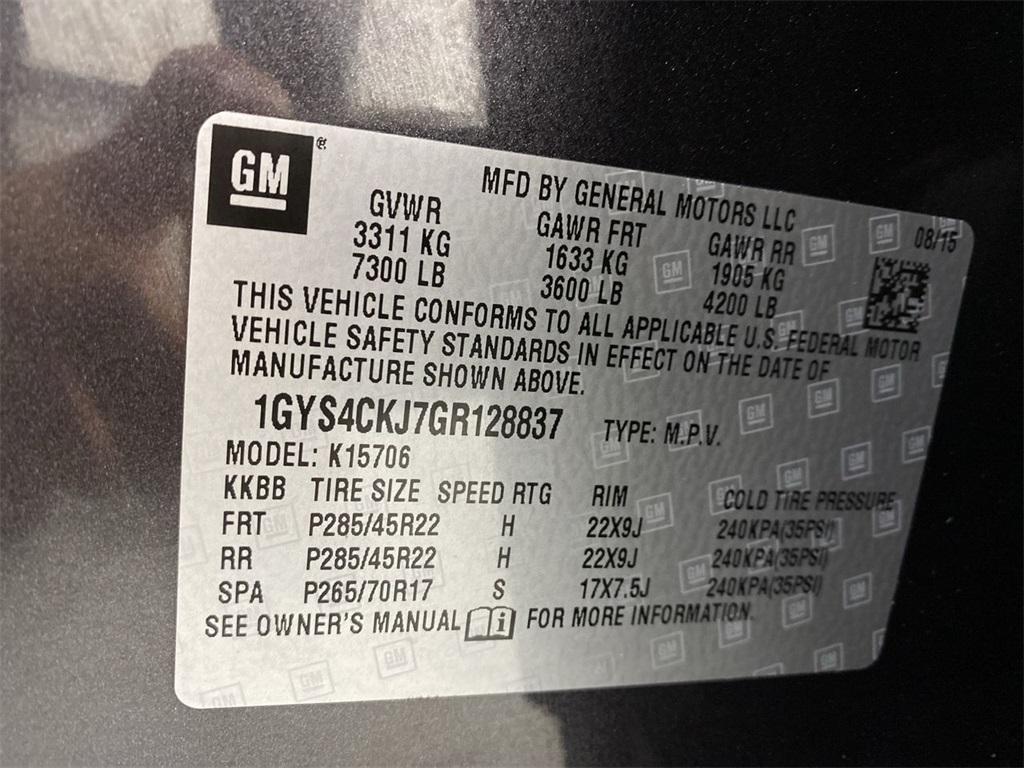 Used 2016 Cadillac Escalade Premium for sale $49,499 at Gravity Autos Marietta in Marietta GA 30060 50