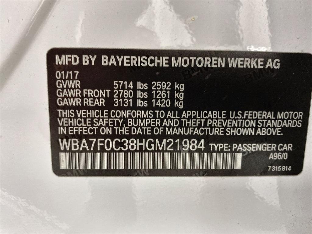 Used 2017 BMW 7 Series 750i for sale $43,888 at Gravity Autos Marietta in Marietta GA 30060 52