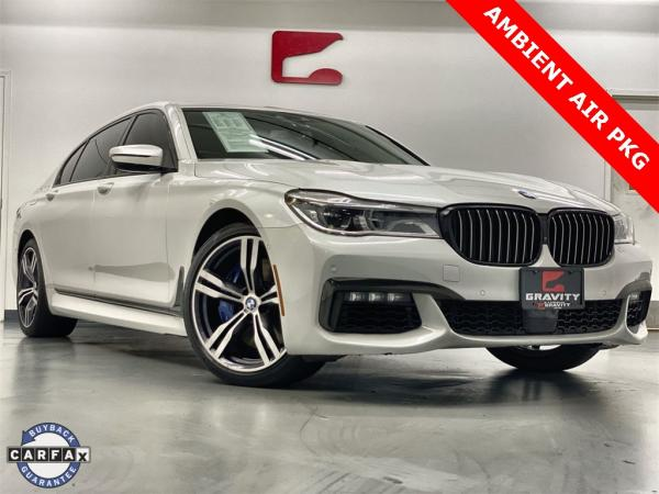 Used 2017 BMW 7 Series 750i for sale $43,888 at Gravity Autos Marietta in Marietta GA