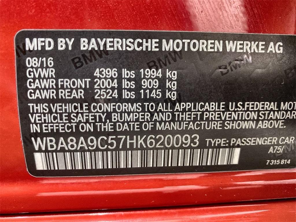 Used 2017 BMW 3 Series 320i for sale $21,989 at Gravity Autos Marietta in Marietta GA 30060 36