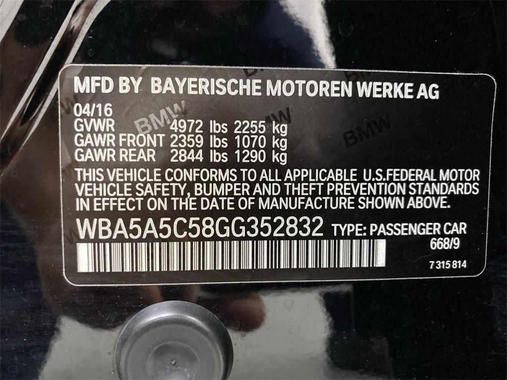 Used 2016 BMW 5 Series 528i for sale $24,888 at Gravity Autos Marietta in Marietta GA 30060 50